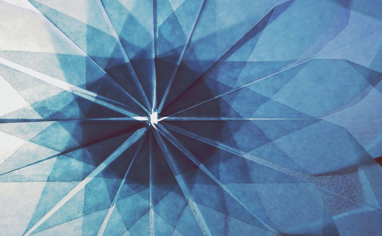 Beautiful stock photos of geometric, Abstract, Arrangement, Art And Craft, Blue