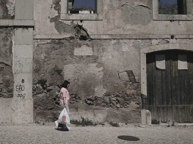 Pale Harsh Dry Street Photography