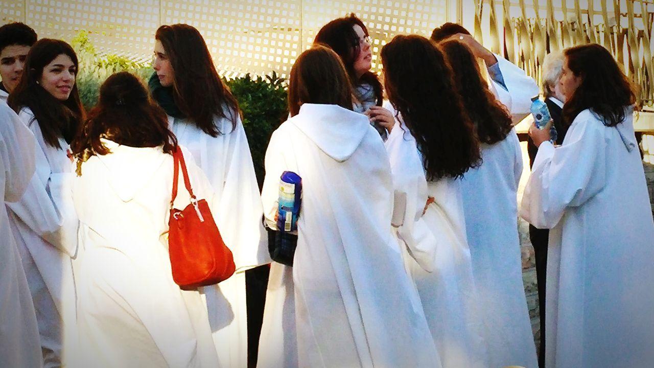 The choir gathers... Togetherness Friendship Choir  Choir Practice Choirmates ChoirBuddies Choirmembers Barcelona, Spain Sagrada Familia