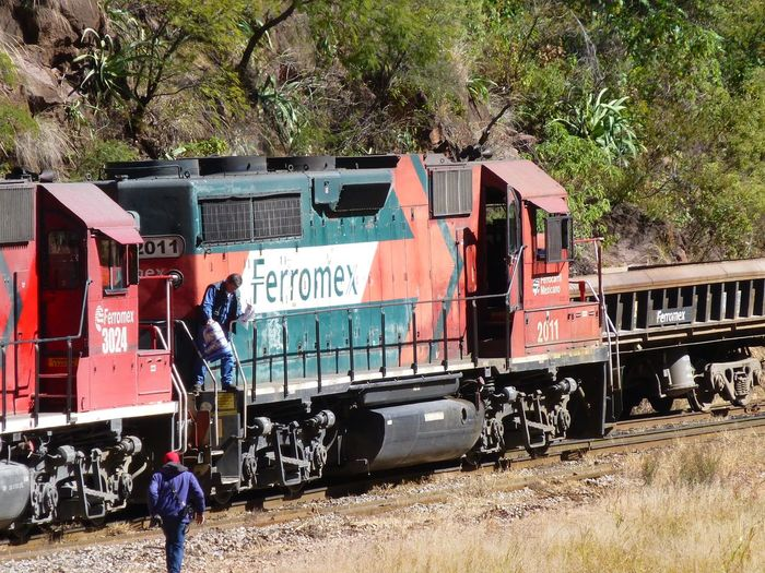 Pacifico Railway Copper Canyon Copper Canyon Mexico Trains Mexico