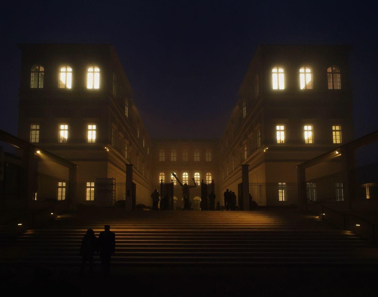 Emptymuseum Museum Barberini Palast Barberini Potsdam Foggy Architecture ZEISS ExoLens Iphone6 Mobilephotography