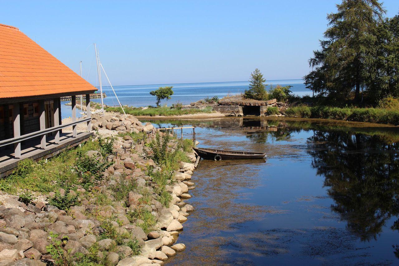 Toila Sea Summer Boat Gulf Of Finland