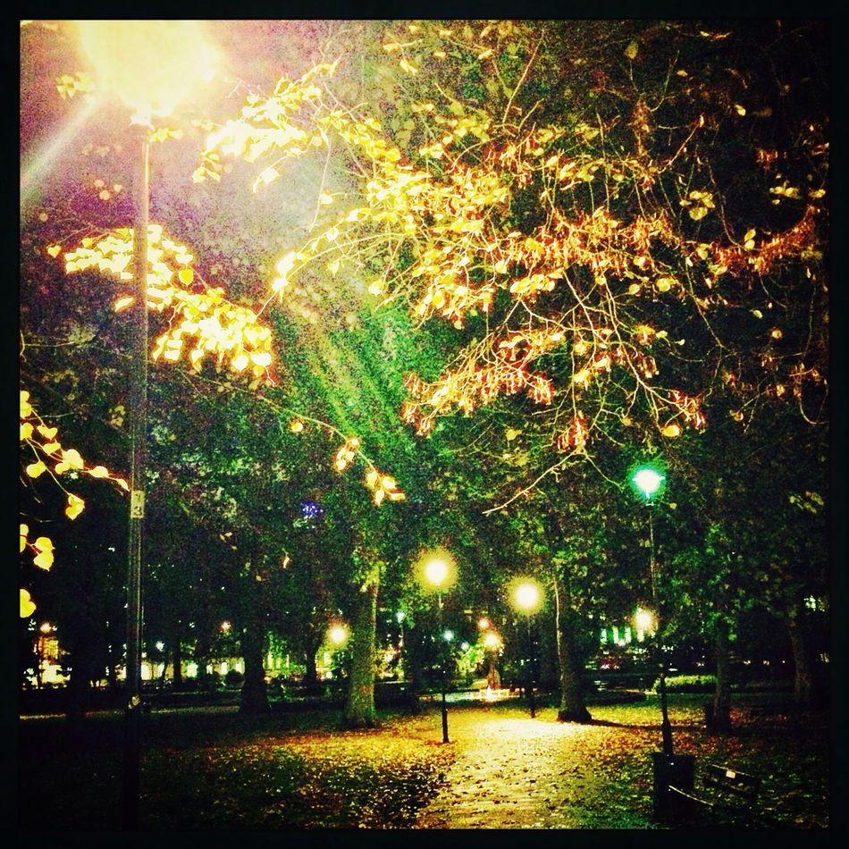 London Night Street