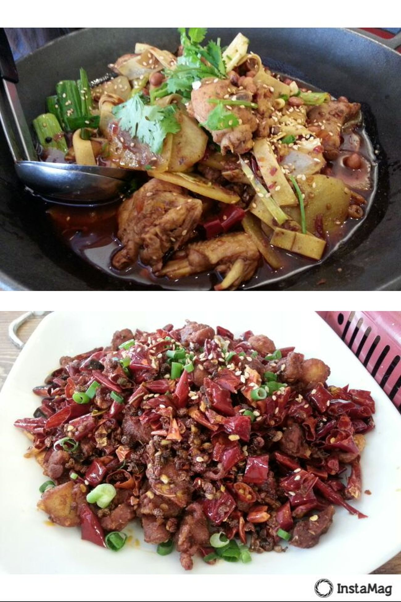 Singapore Bugis Fat Bird Hot Pot Spicy Chicken Cubes 싱가폴 치킨핫팟
