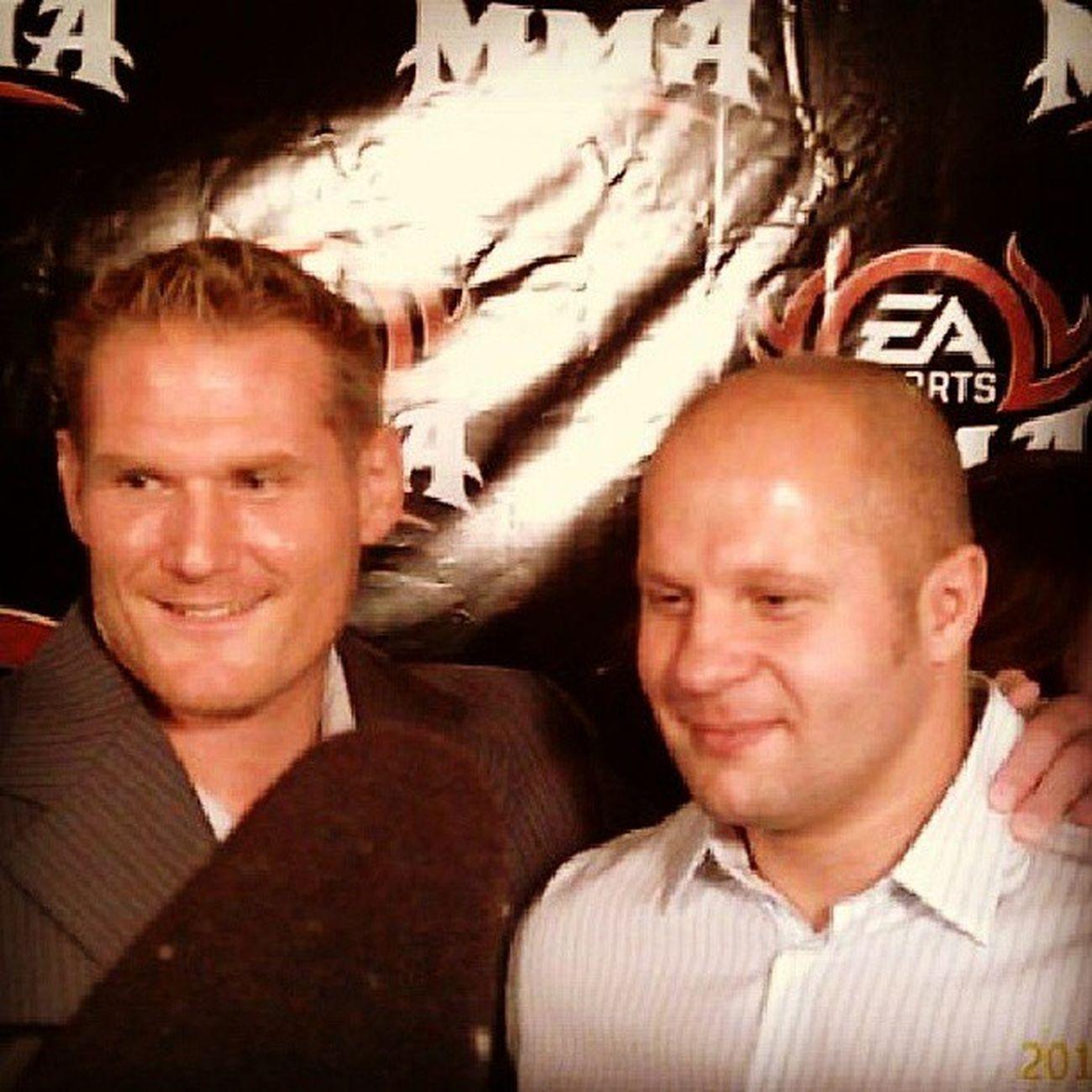 Joshbarnette Fedor UFC Strikeforce Mmalegends Russia Chokeoutcancer Chokeouttv Easports