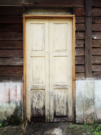 Door Wood - Material Built Structure Architecture Doorway Building Exterior Outdoors Old Buildings Old House House Architecture