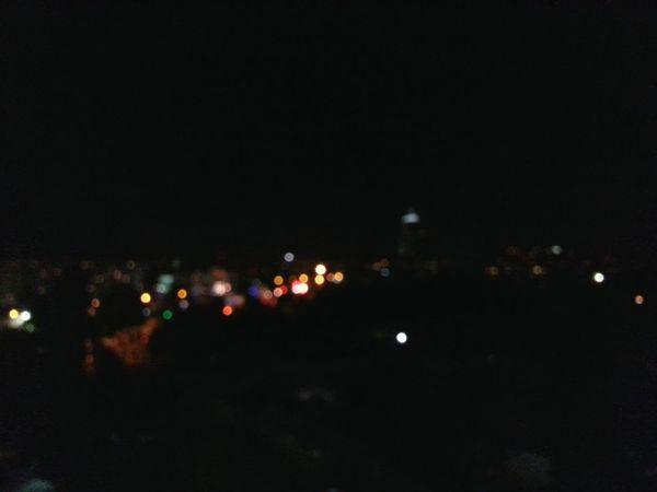 Night Lights City Lights Blur