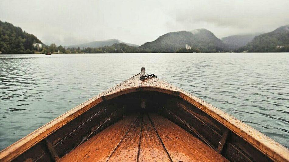 I simply love BLED Bled Bled, Slovenia Slovenia Lake Boat Cloud Cloudy Sea