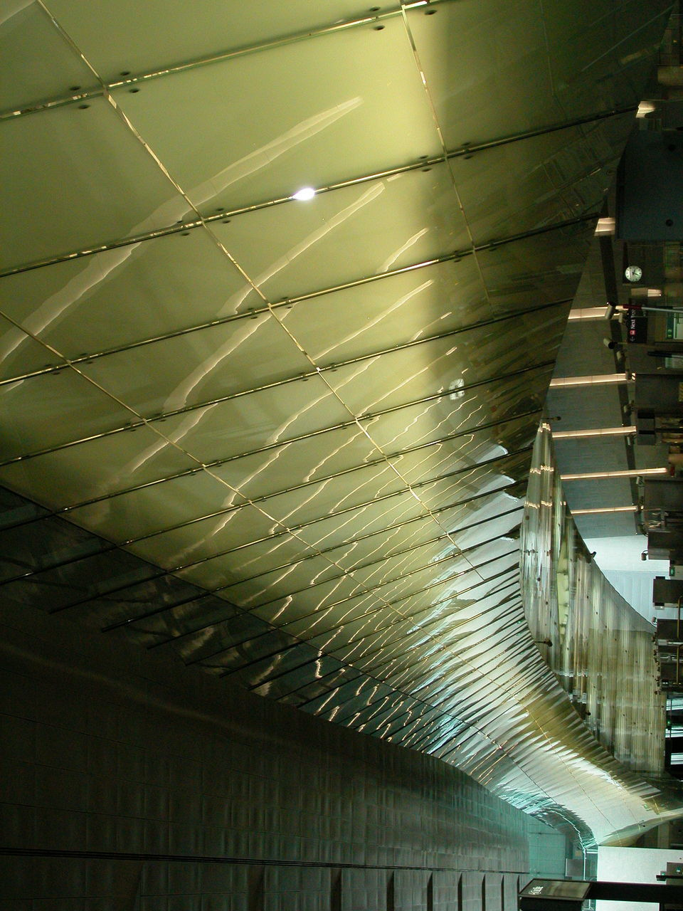 ceiling, indoors, built structure, architecture, illuminated, no people, low angle view, day, close-up