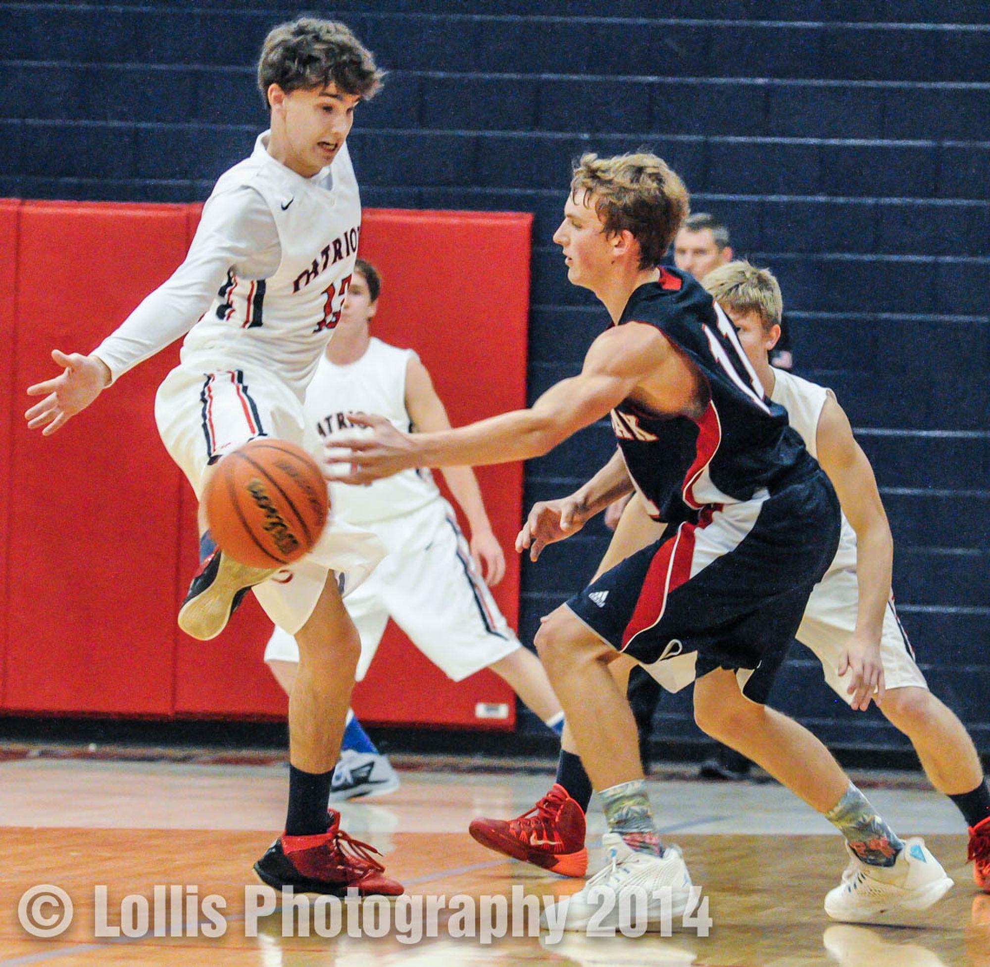 Wren Hurricanes Basketball vs West-Oak Warriors Highschool Sports Sports Photography