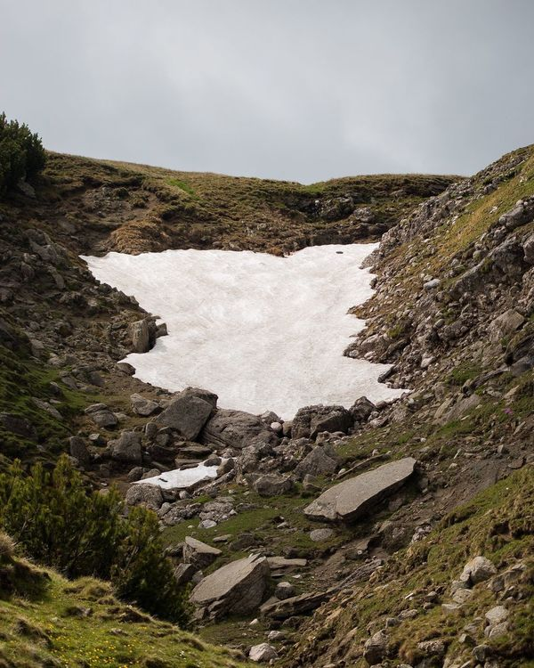 Snow In Summer Romania Mountains Snow Phitograpghy Travel