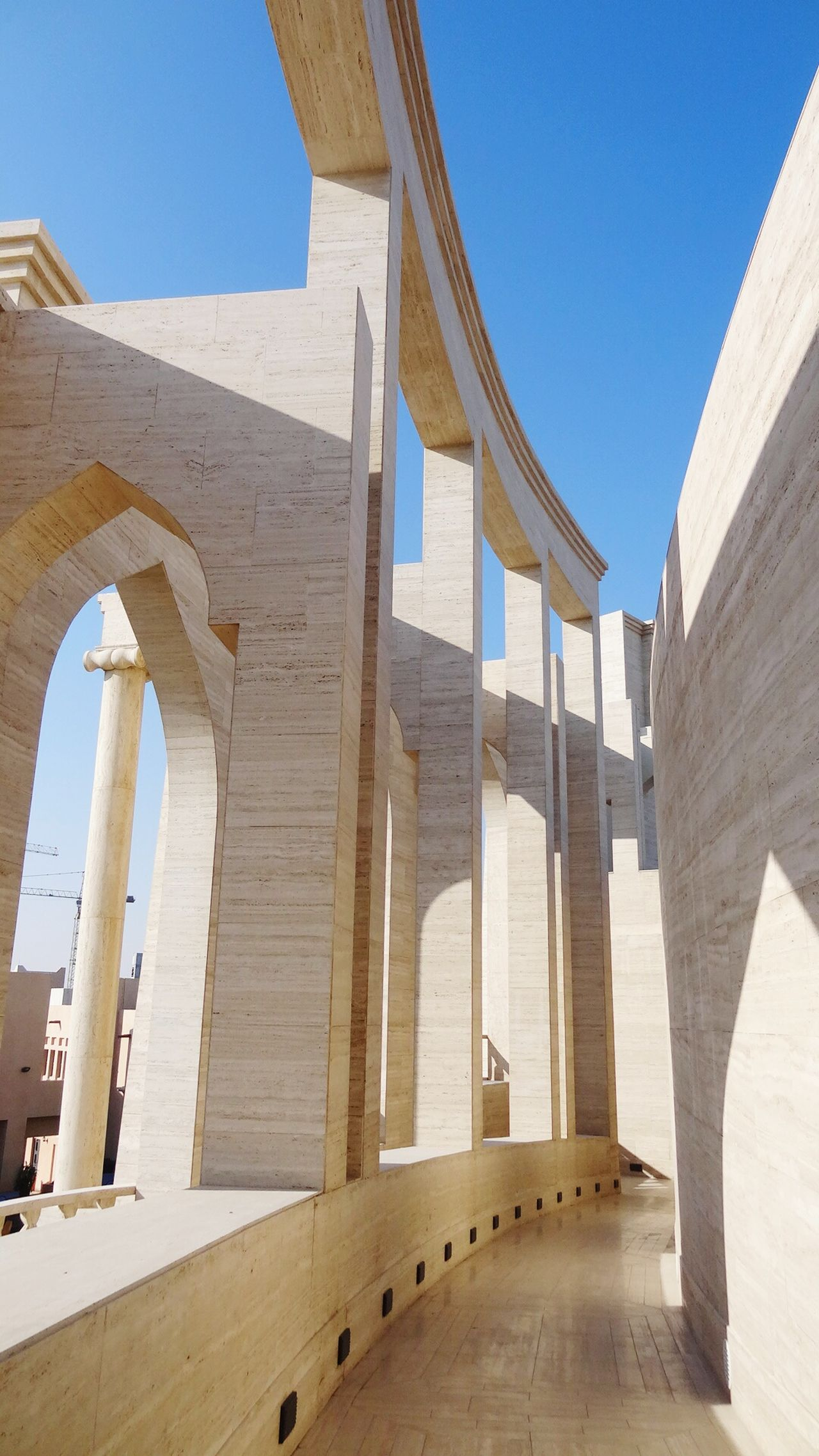 Creative Light And Shadow Amazing architecture Katara Village In Doha Qatar Open Edit