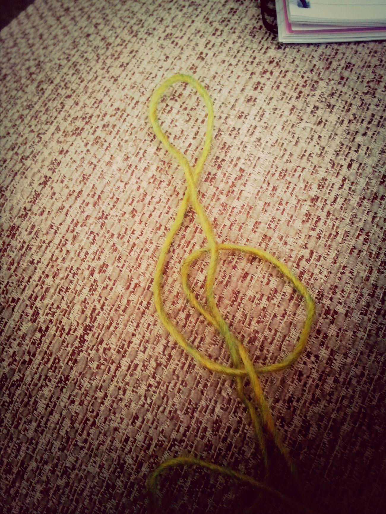 My wool makes music? Taking Photos Knitting Relaxing Music