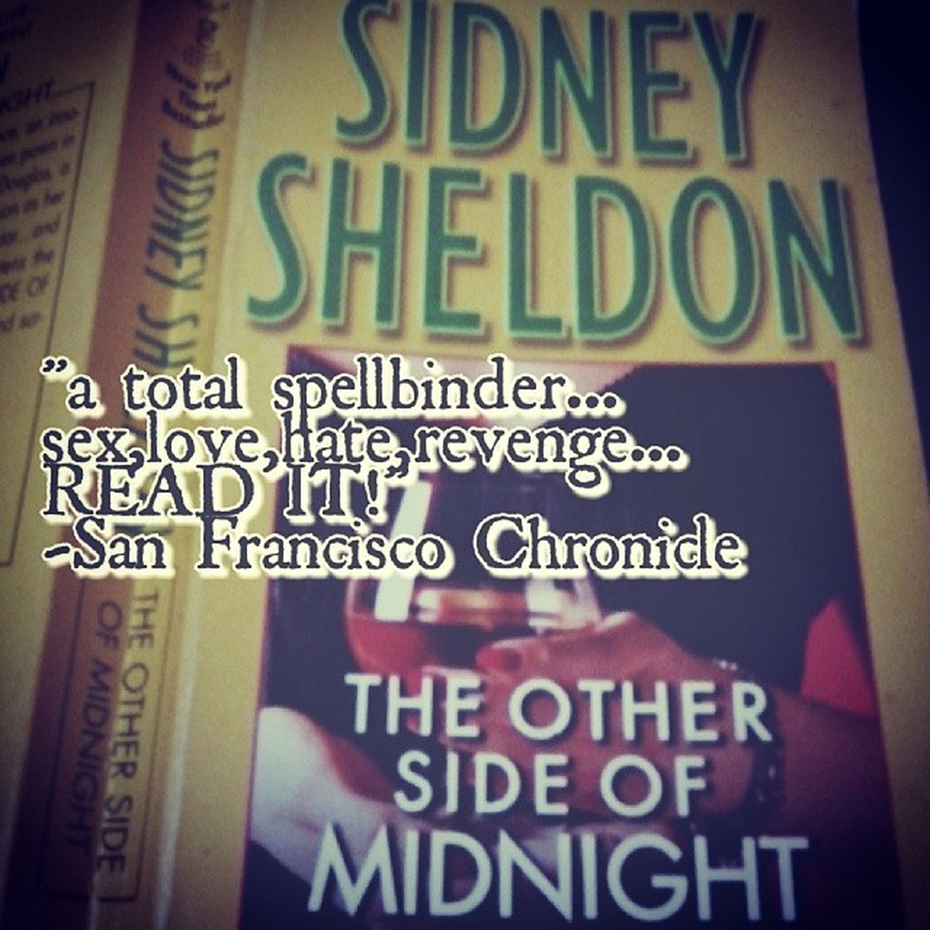 """When you want a novel you simply cannot put down, go to Sheldon "" -Newyorkdailynews"