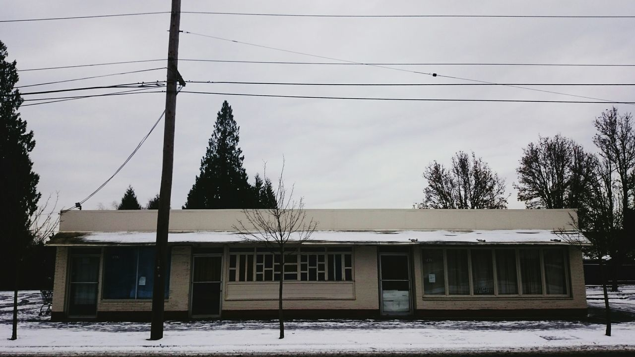 First Samoan Church, St Johns, ORNo People Cold Temperature Wrinkles Of The City  Portland, OR North Portland Deterioration Church Urban Snow Simplicity Urban Geometry