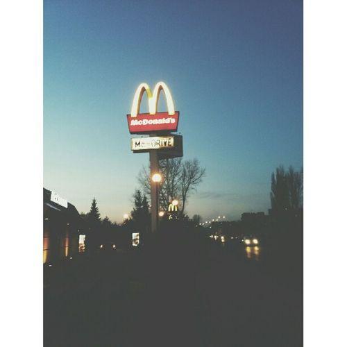 View City City Lights Street View McDonald's