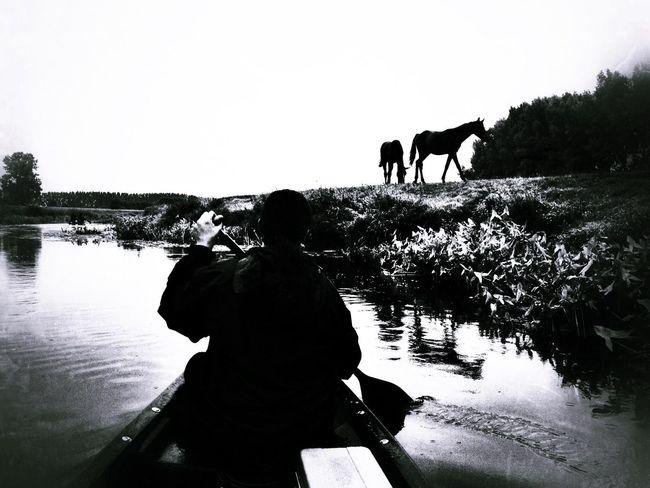 Blackandwhite Enjoying Life Monochrome Silhouette