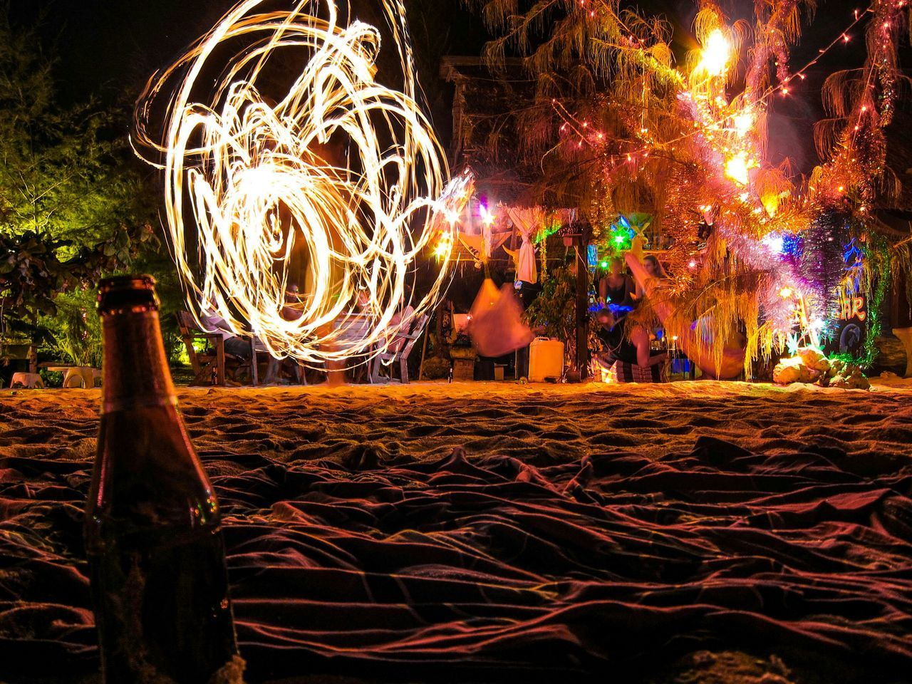 Poi Three Monkeys Bar EyeEm Koh Phangan Darkness And Light RePicture Travel Creative Light And Shadow
