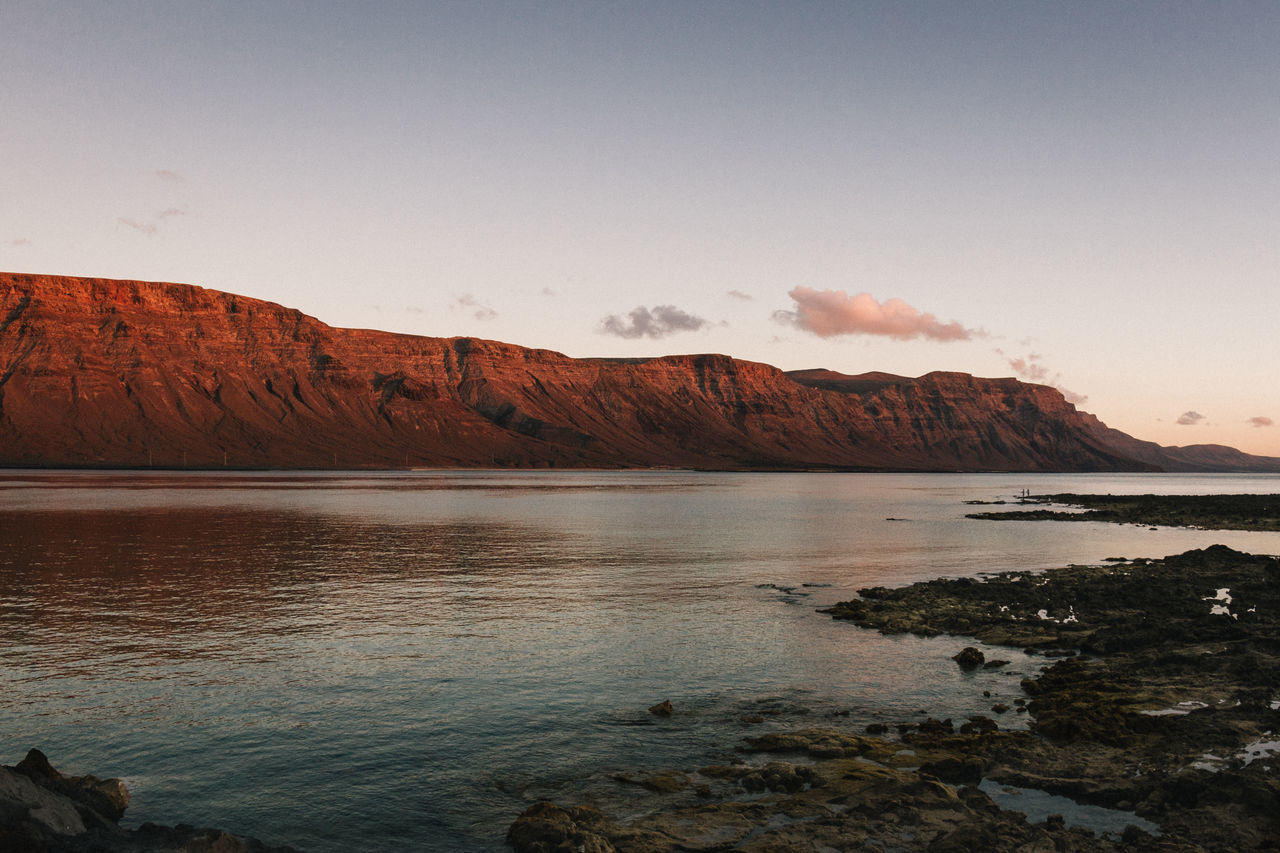 Beauty In Nature Canary Islands Day EyeEm Best Shots EyeEm Nature Lover La Graciosa Landscape Landscape_Collection Landscape_photography Landscapes Lanzarote Lifestyles Mountain Nature Ocean Ocean View Outdoors Scenics Sea Summer Summertime Sunset Tranquil Scene Tranquility Water