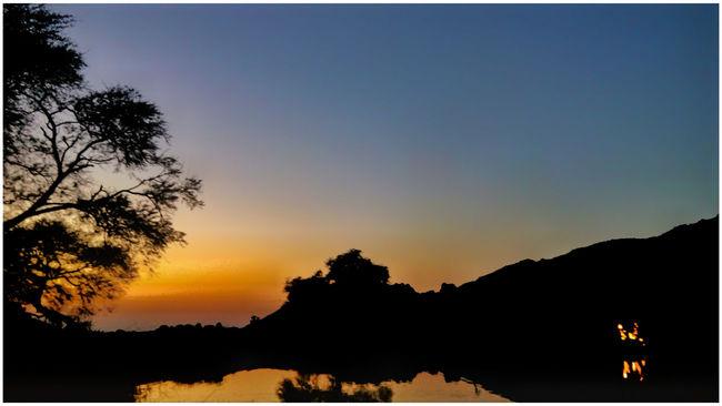 Bamra Sunset Scenic Beauty