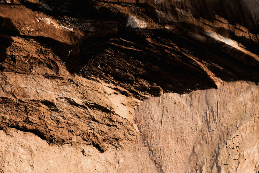 Close-up Contrast Full Frame Mountain Orange Pattern Rocks Shadow Sunlight Textured  Rocky