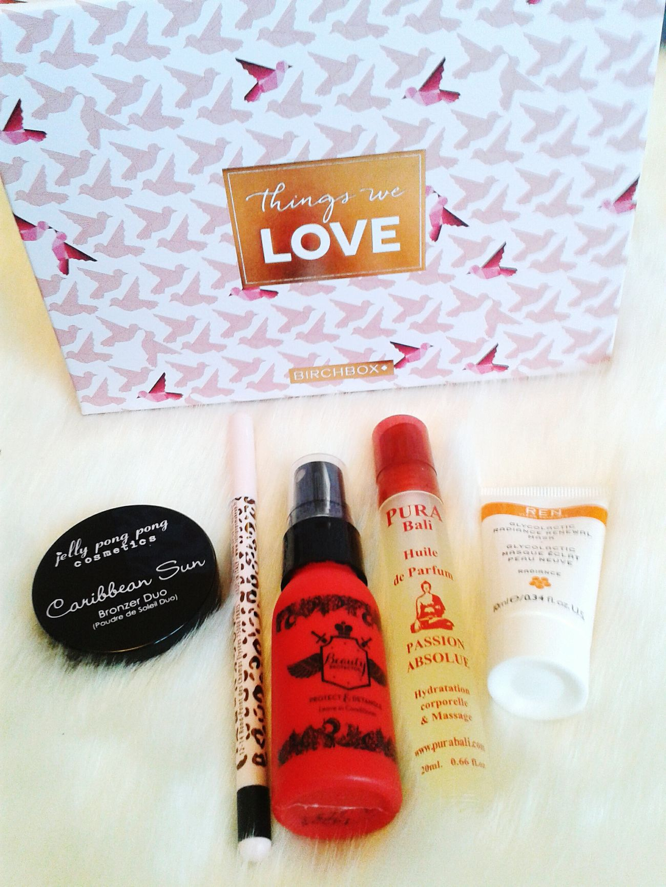 Birchbox Things We Love Box Beauty Makeup ♥ Mailbox February