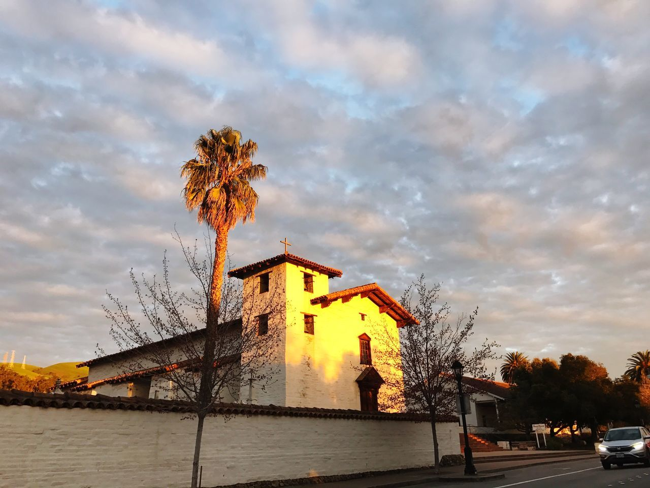 www.missionsanjose.org Mission San Jose was founded on June 11, 1797 in Fremont Architecture Sky Built Structure Cloud - Sky Building Exterior Tree Outdoors No People Nature Water Beauty In Nature Day Shotoniphone7plus