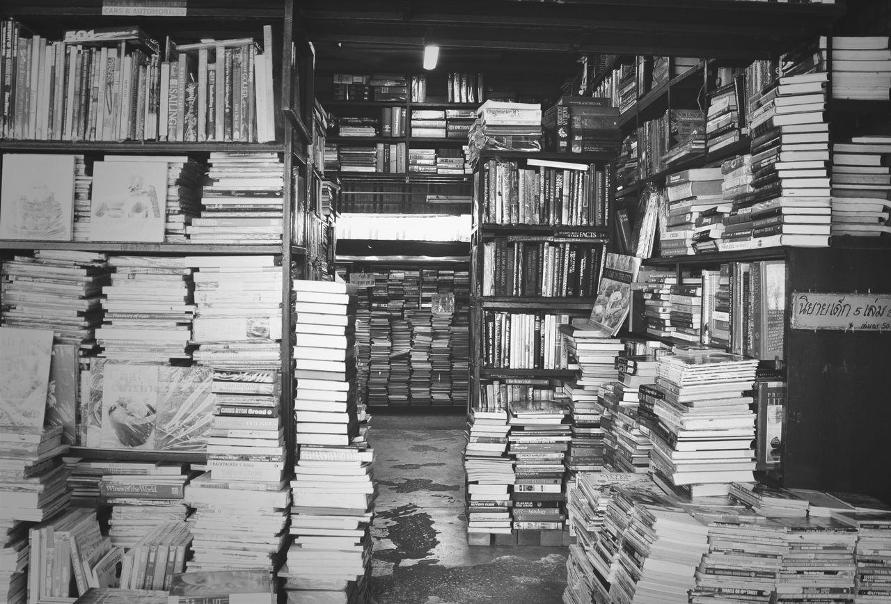 Beautiful stock photos of library, Abundance, Book, Bookshelf, Bookstore