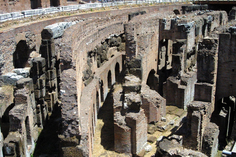 Ruins of the Coluseum - Rome, Italy Ancient Ancient Civilization Architecture Built Structure Coluseum Day History No People Old Ruin Outdoors Rome, Italy The World Before Bin Laden