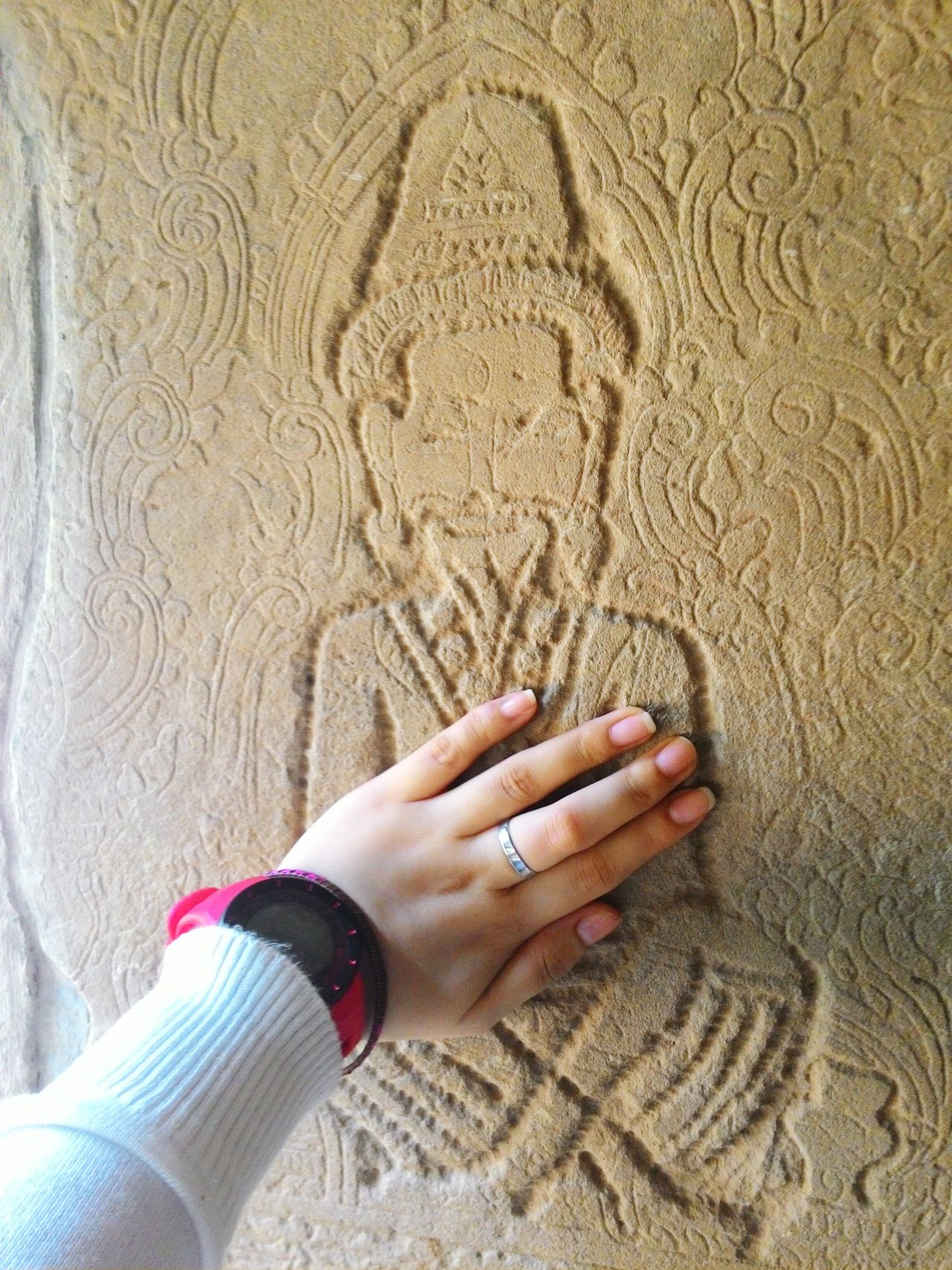 Touched the mystery of the 12th Century