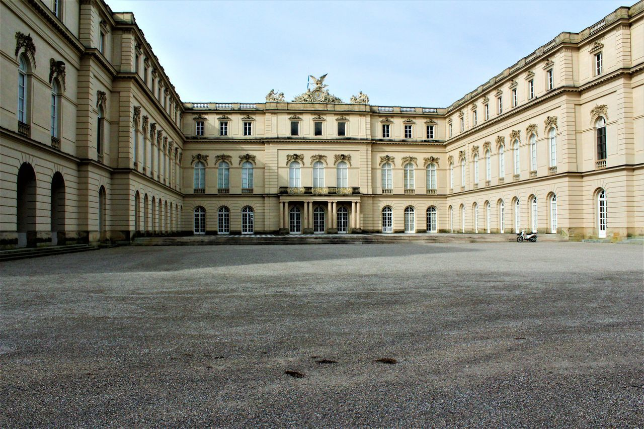Architecture Building Exterior Built Structure Castle City Day Herrenchiemsee No People Outdoors Sky