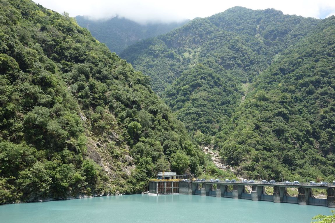 Nature Mountain Lush Foliage Scenics Beauty In Nature Tree Tranquil Scene Tranquility Growth Green Color Non-urban Scene Idyllic Forest Outdoors River Day Landscape No People Water Sky Taroko National Park Taiwan