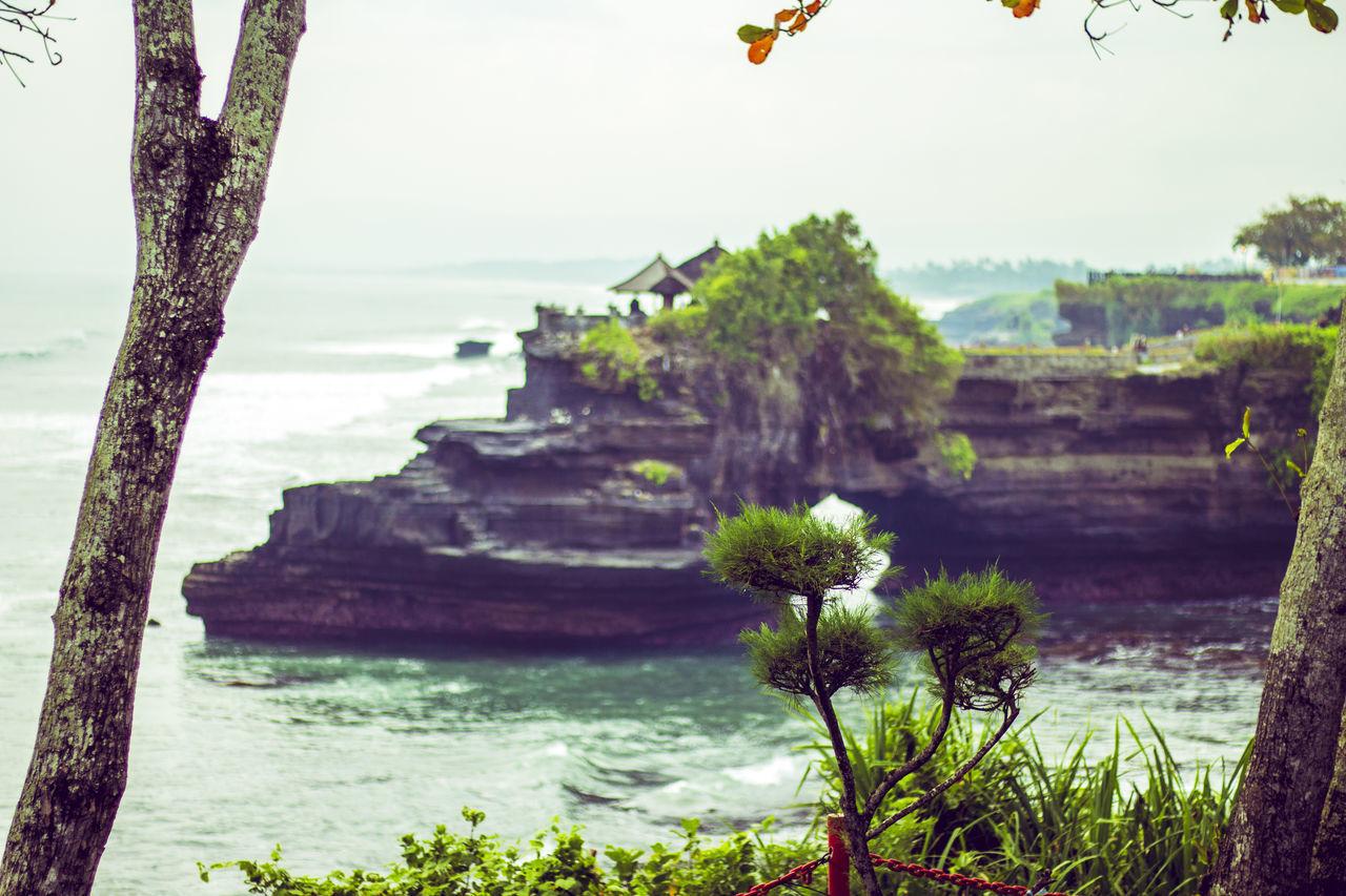 Tanah Lot, Bali, Indonesia Bali Balinese Beach Cliff Exotic Hindu Hindu Temple INDONESIA Island Island Of God, Bali Landmark Landscape Mistic Myth Ocean Sea Shrine Stones Summer Tanah Lot Tanah Lot Temple Temple Travel Travelling Vacation