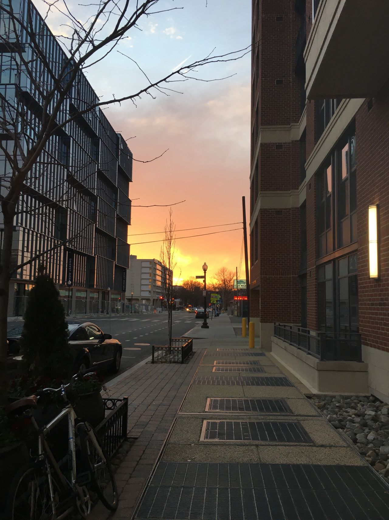 Sunset in the city #skyonfire #flickr #rushhour 30147