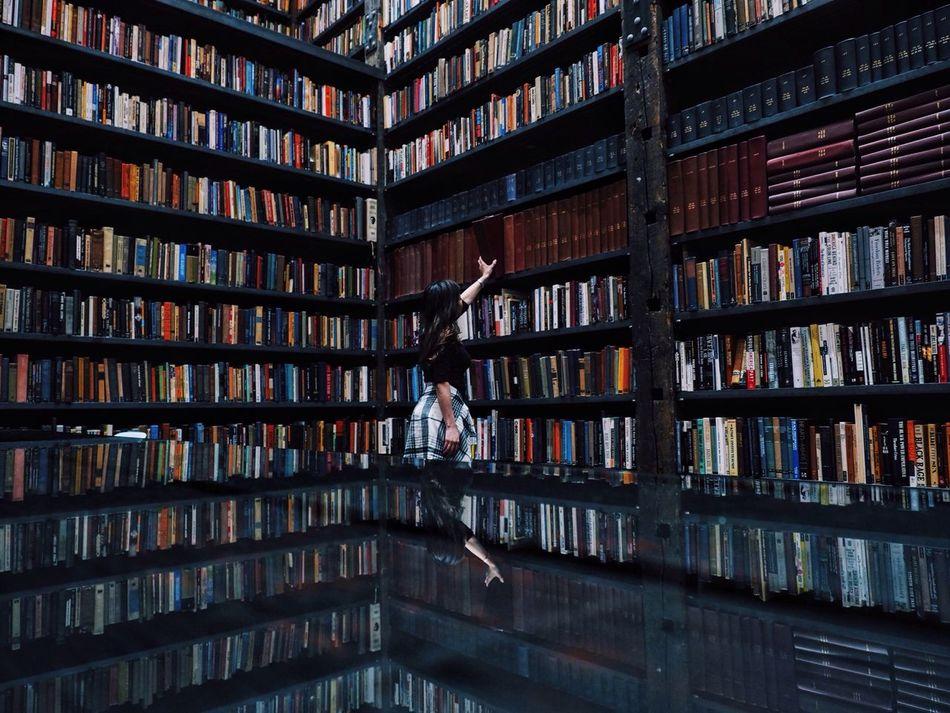 Beautiful stock photos of bücher, book, bookshelf, education, library