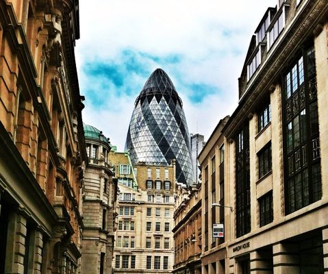 Architecture at City of London by Connie