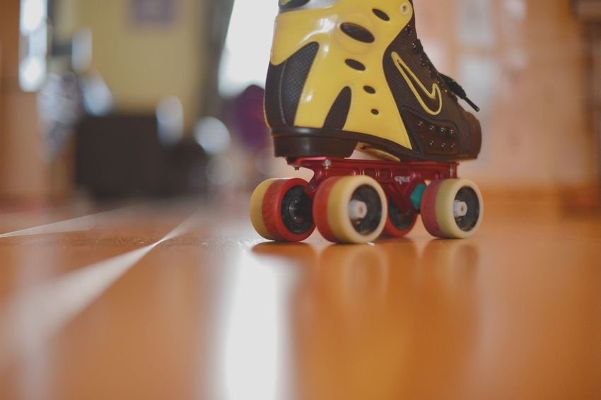 Depth Of Field Mode Of Transport Close-up Single Object Still Life Focus On Foreground Rollerskate