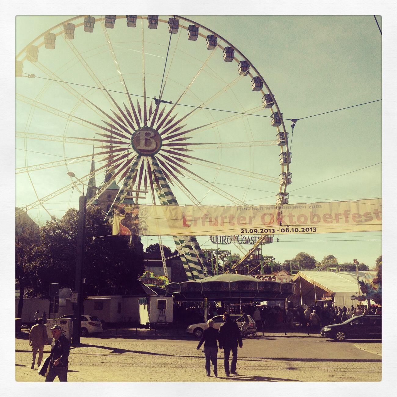 o'zapft is Oktoberfest Erfurt Thuringen