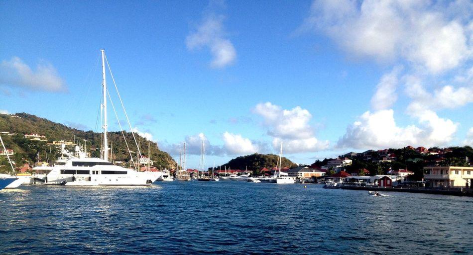 Gustavia - St Barth's view from my door ! Enjoying Life