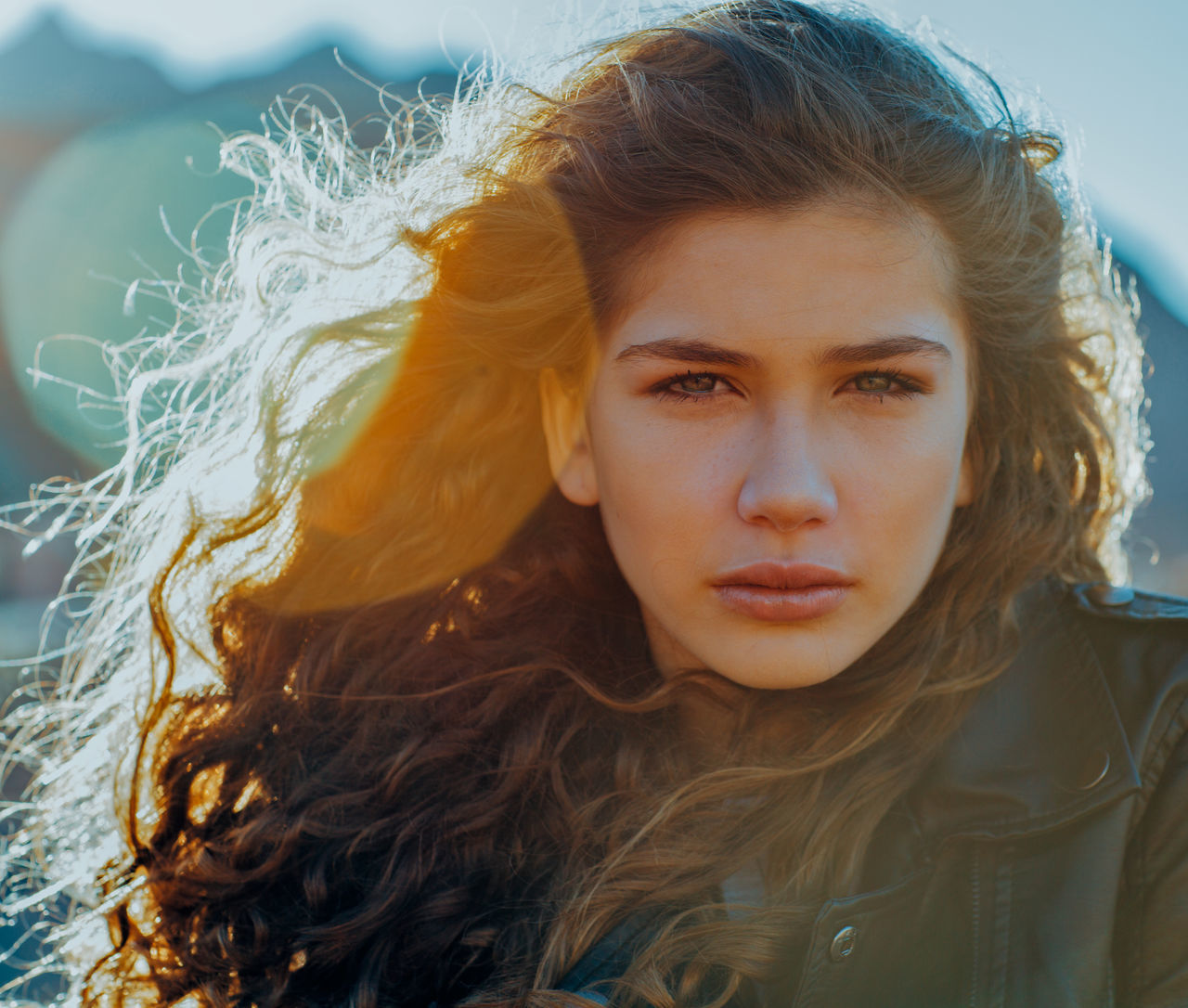 Beautiful stock photos of augen, young adult, fashion, one young woman only, portrait