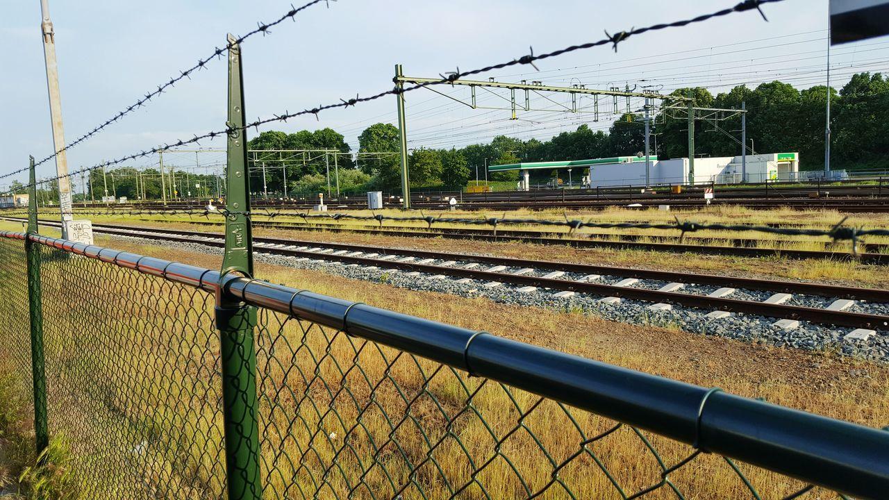 Hi! Hallo EyeEm Gallery Trenyolu Landscape Landscape_Collection Rail Transportation Railway Railroad Station Rail Railroad Rails Railing Railroad Track