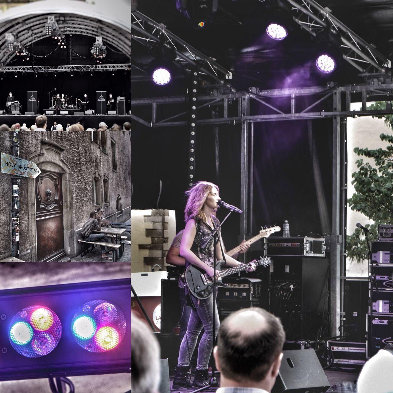Rockumknuedler Rock Luxembourg Lionstage HolyGhost