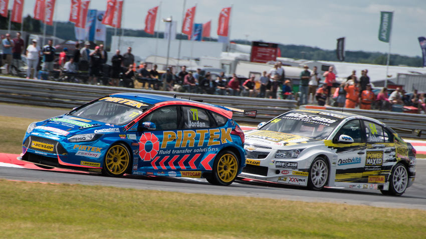 BTCC Fast Cars Land Vehicle Mode Of Transport Motion Racing Speed
