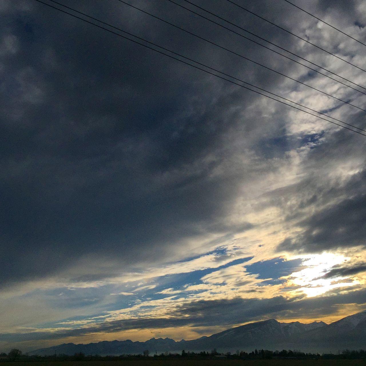 BigSkyCountry Sunset Montana Mountains