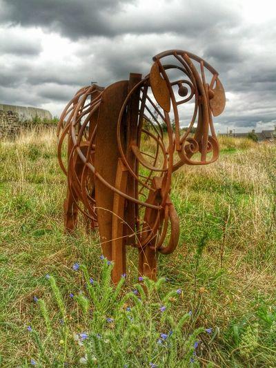 Sheffield Cow Statue Manorlodge