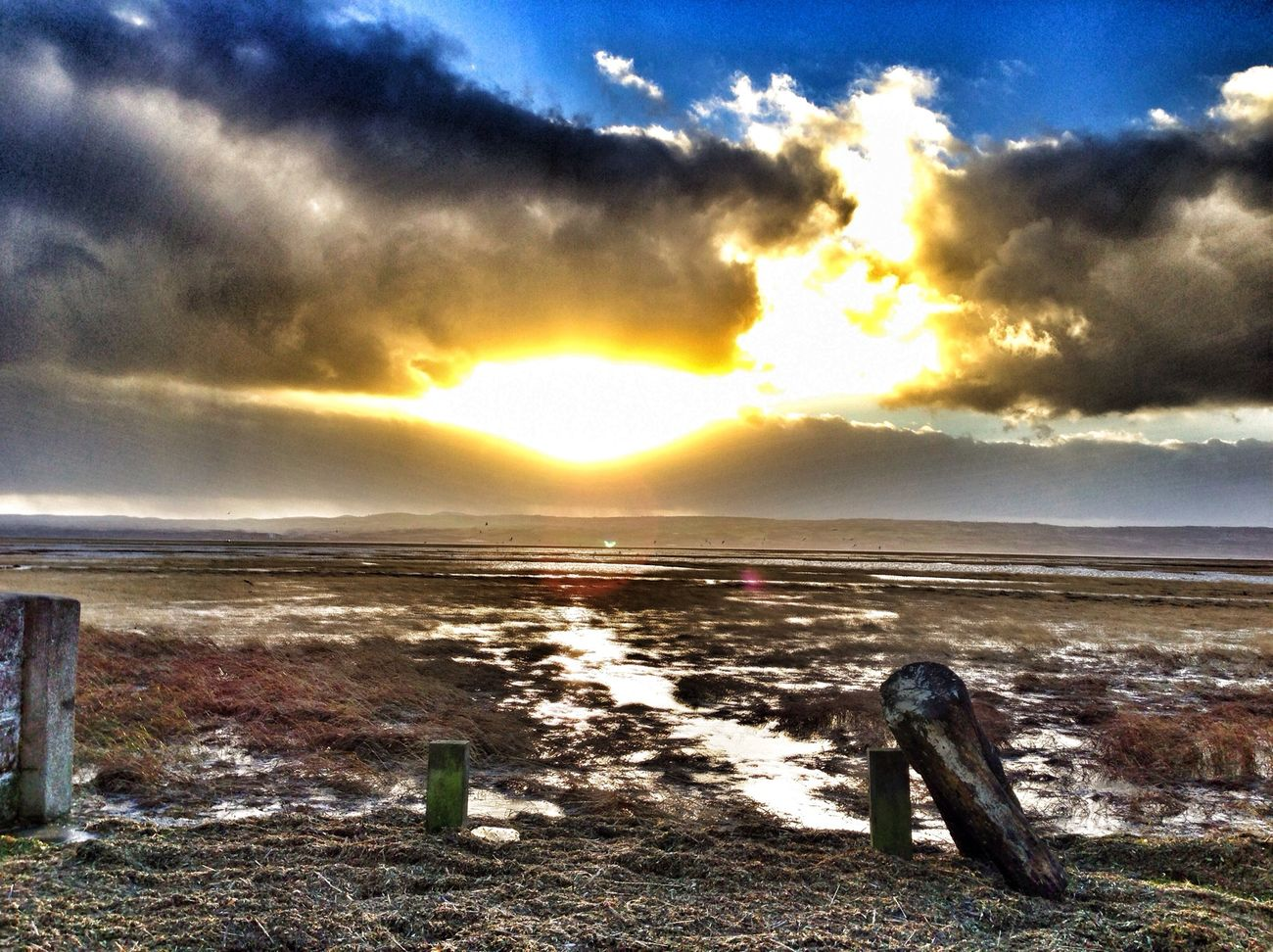 High tide at Parkgate IPhoneography Landscape