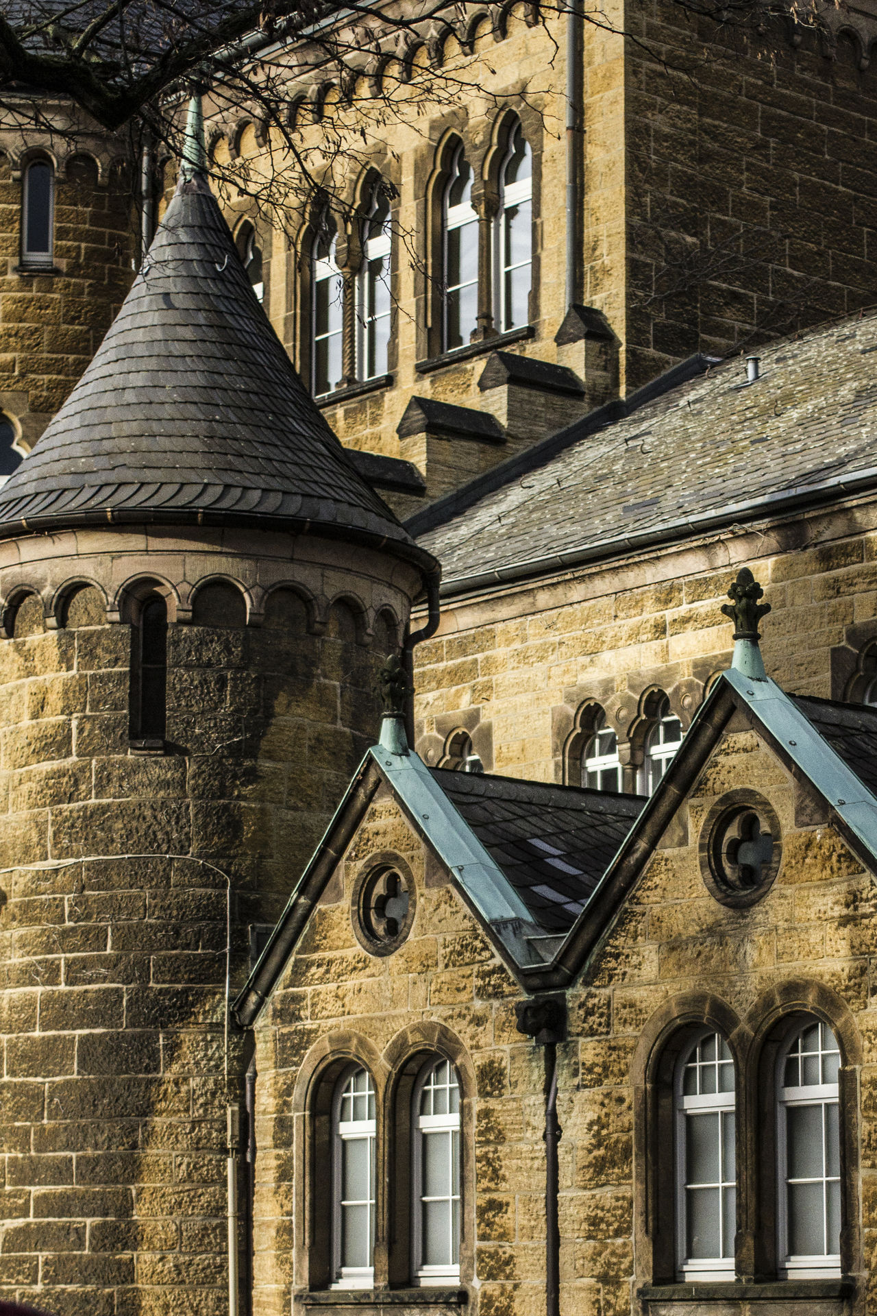 Arch Architectural Feature Architecture Building Exterior Built Structure Day Exterior Façade Germany Goslar Goslar Germany History No People Old Town Old Town Outdoors Place Of Worship Tourism Town Window