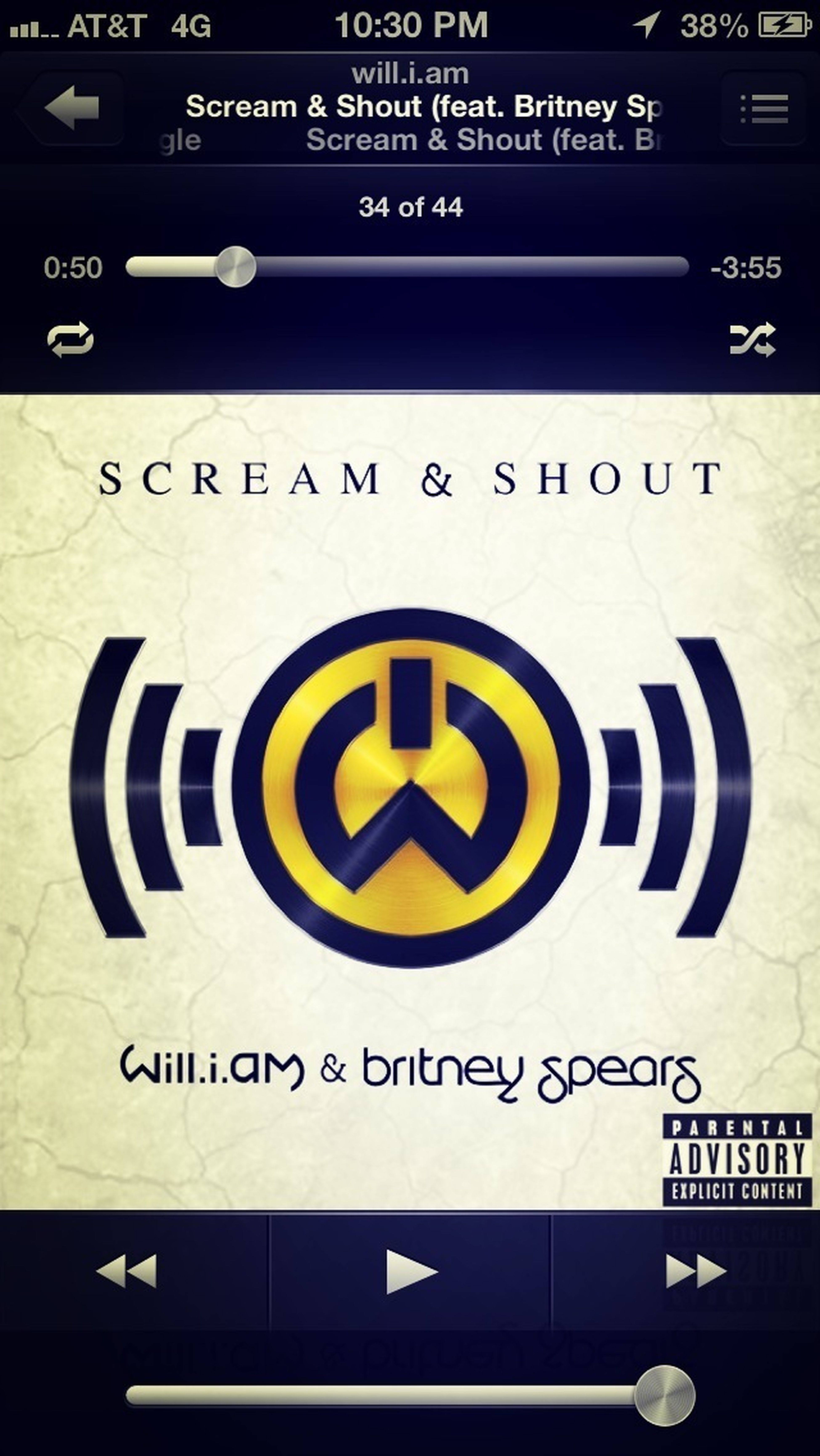 Scream  And Shout !!! My Jam