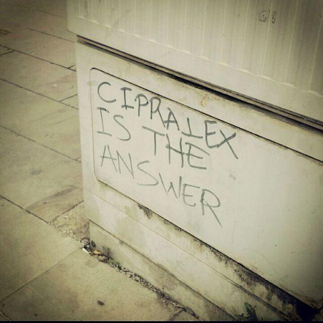 Mutluluğun sırrı Cipralex