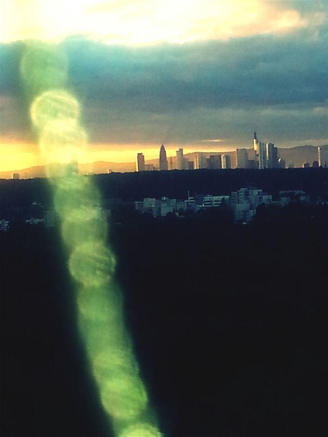 Tranquility Cloudscape Skyline Frankfurt Maviclight
